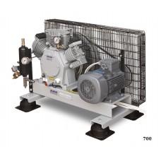 Воздушный компрессор среднего давления Alkin 700 Chassis, 40 бар
