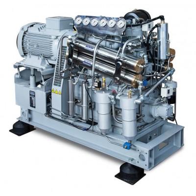Воздушный компрессор с водяным охлаждением Alkin HW-1500 AC, 275 бар