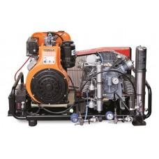 Компрессор высокого давления Alkin W32 DIESEL, 225 бар, 6.6 кВт