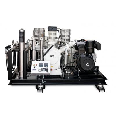 Компрессор высокого давления Alkin W4 DIESEL, 415 бар