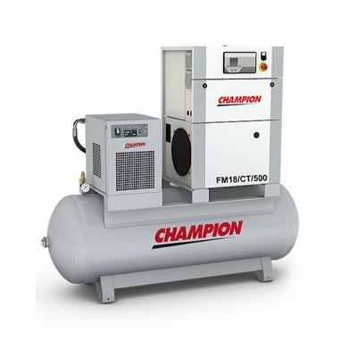 Винтовой компрессор с осушителем и ресивером Champion FM18/CT/500, 8 бар