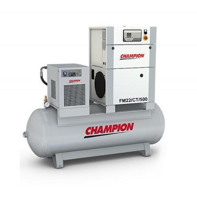 Винтовой компрессор с осушителем и ресивером Champion FM22/CT/500, 13 бар