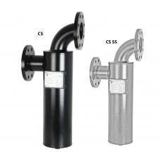 Сварные циклонные сепараторы CS /CS SS, производительность 14 - 238 м³/мин, 16 бар.