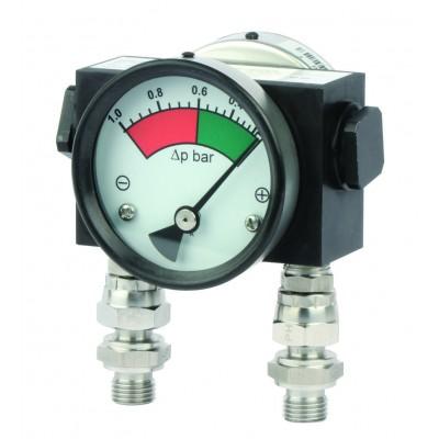 Дифференциальный индикатор высокого давления MDH 200 до 200 бар