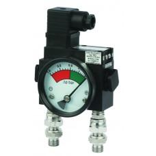 Дифференциальный индикатор высокого давления MDH 200C до 200 бар.