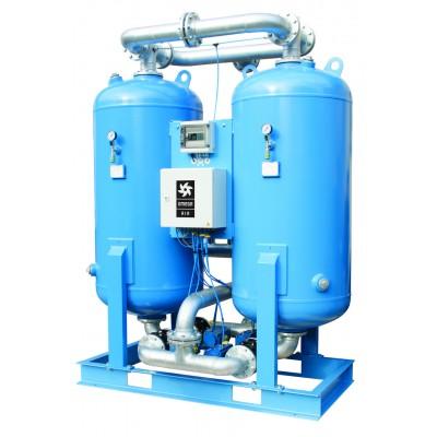 Адсорбционные осушители холодной регенерации F-DRY серии, 20–110 м³/мин, 16 бар