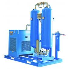 Рефрижераторно-адсорбционные осушители COM-DRY серии, 0,1 - 110 м³/мин, 14 бар.