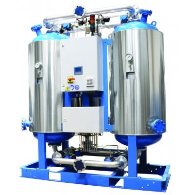 Адсорбционные осушители горячей регенерации R-DRY BVA серии, 6,5 - 330 м³/мин, 11 бар