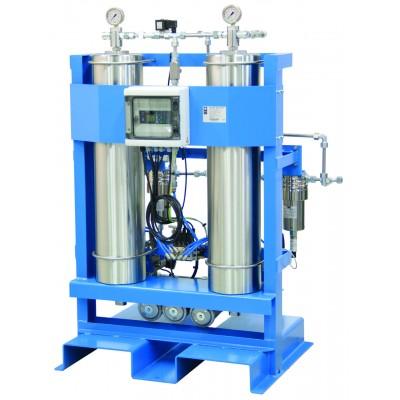 Адсорбционные осушители холодной регенерации HP-DRY серии, 0,8 - 26 м³/мин, 50, 100, 250, 400 бар