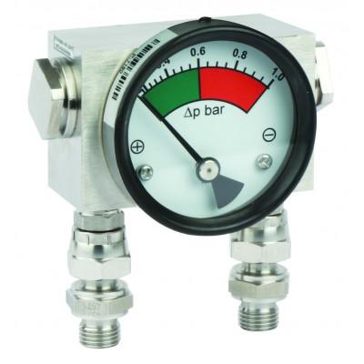 Дифференциальный индикатор высокого давления MDH 400, до 400 бар