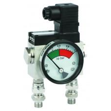 Дифференциальный индикатор высокого давления MDH 400C, до 400 бар.