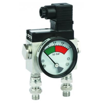 Дифференциальный индикатор высокого давления MDH 400C, до 400 бар