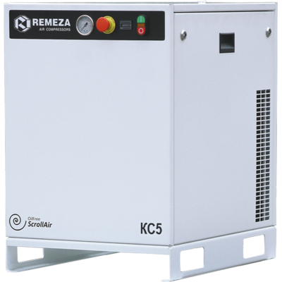Спиральный компрессор Remeza КС7-8М, 5,5 кВт., 0,52 м³/мин, 8 бар