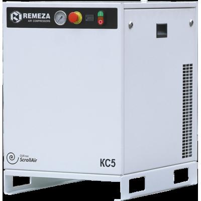 Спиральный компрессор Remeza КС7-10, 5,5 кВт., 0,47 м³/мин, 10 бар