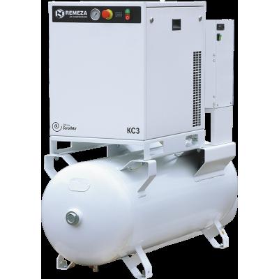 Спиральный компрессор Remeza КС7-10-270М, 5,5 кВт., 0,4 м³/мин, 10 бар